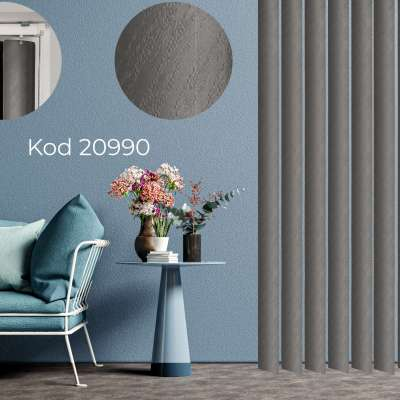 Stylish Modern wooden living room has an sofa on empty dark blue wall background,3D rendering